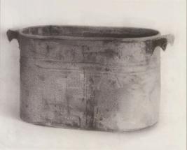 Christopher Gallego, LAundry Boiler, 2002, Jeffrey LEder Gallery: Beautirul Object, Upsetting Still Life, Long Island City, NY