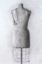Christopher Gallego-Contemporary Artist-American-1959-Drawing-Title-Mannequin