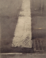 Cityscape Drawings-Realist Drawings-Image Title-Tenth Avenue Crosswalk-Christopher Gallego