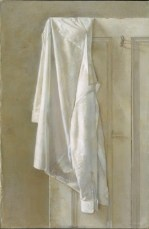 Contemporary Painter Christopher Gallego-Image Title-Shirt and Door
