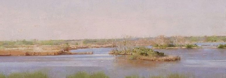 Christopher Gallego, Image title: Lake Clara, detail