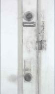 Door, Jersey City, 2008, charcoal & graphite on paper