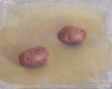 Potatoes, 2003, oil on panel, 8 x 10 in.