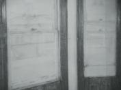 studio windows, detail