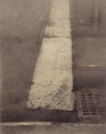 Christopher Gallego, Tenth Avenue Crosswalk #2, 2013 , Charcoal and graphite on paper, 19 1/2 x 15 5/8 in.