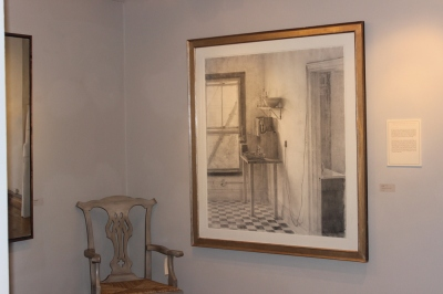 """""""Kitchen"""", 1997, Charcoal Drawing, Artist: Christopher Gallego, American, b. 1959"""