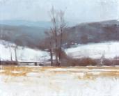 Christopher Gallego blog, Featured Artist: Frank Hobbs, Winter Distance Field